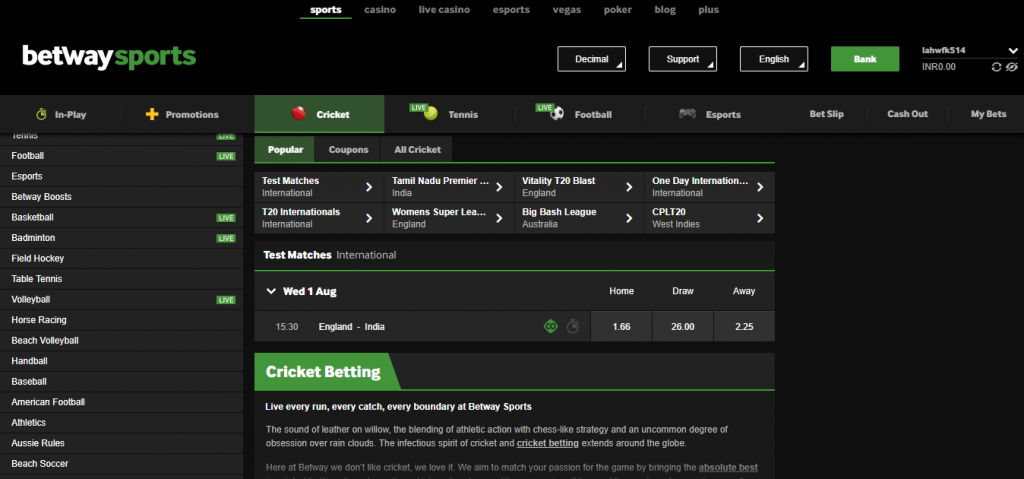 Rules for cricket betting websites scottish premiership relegation betting odds